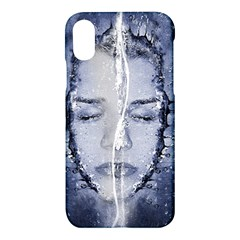 Girl Water Natural Hair Wet Bath Apple Iphone X Hardshell Case