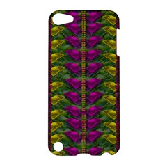 Butterfly Liana Jungle And Full Of Leaves Everywhere Apple Ipod Touch 5 Hardshell Case by pepitasart