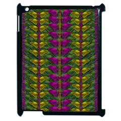 Butterfly Liana Jungle And Full Of Leaves Everywhere Apple Ipad 2 Case (black)