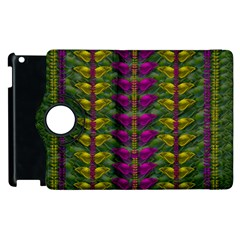 Butterfly Liana Jungle And Full Of Leaves Everywhere Apple Ipad 3/4 Flip 360 Case by pepitasart