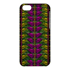 Butterfly Liana Jungle And Full Of Leaves Everywhere Apple Iphone 5c Hardshell Case by pepitasart