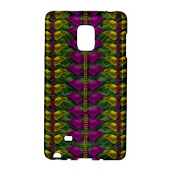 Butterfly Liana Jungle And Full Of Leaves Everywhere Samsung Galaxy Note Edge Hardshell Case