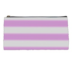 Bold Stripes Soft Pink Pattern Pencil Cases by BrightVibesDesign