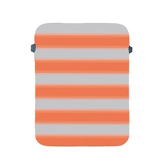 Bold Stripes Orange Pattern Apple Ipad 2/3/4 Protective Soft Cases