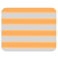 Bold Stripes Yellow Pattern Double Sided Flano Blanket (medium)  by BrightVibesDesign