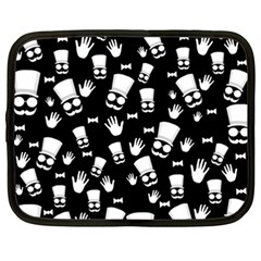 Gentleman Pattern Netbook Case (xxl)