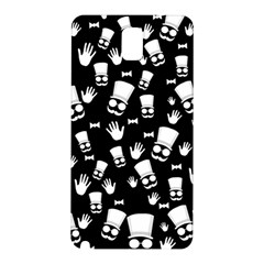 Gentleman Pattern Samsung Galaxy Note 3 N9005 Hardshell Back Case