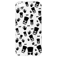 Gentleman Pattern Apple Iphone 5 Hardshell Case