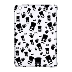 Gentleman Pattern Apple Ipad Mini Hardshell Case (compatible With Smart Cover)