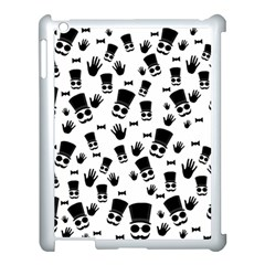 Gentleman Pattern Apple Ipad 3/4 Case (white)