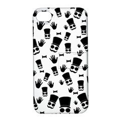 Gentleman Pattern Apple Iphone 4/4s Hardshell Case With Stand