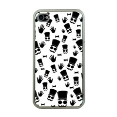 Gentleman Pattern Apple Iphone 4 Case (clear)