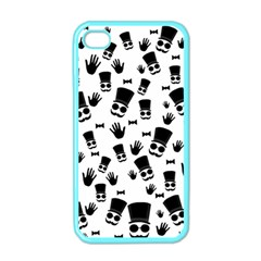 Gentleman Pattern Apple Iphone 4 Case (color)