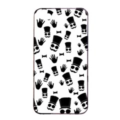 Gentleman Pattern Apple Iphone 4/4s Seamless Case (black)