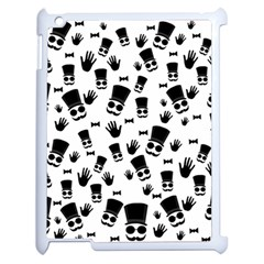 Gentleman Pattern Apple Ipad 2 Case (white)