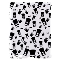 Gentleman Pattern Apple Ipad 3/4 Hardshell Case (compatible With Smart Cover) by Valentinaart