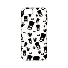 Gentleman Pattern Apple Iphone 5 Classic Hardshell Case (pc+silicone)