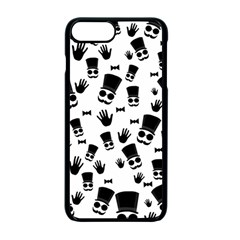 Gentleman Pattern Apple Iphone 7 Plus Seamless Case (black) by Valentinaart