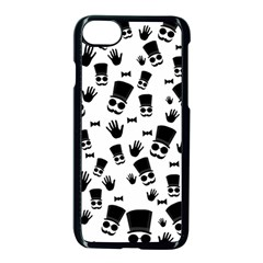 Gentleman Pattern Apple Iphone 7 Seamless Case (black)
