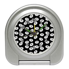 Donuts Pattern Travel Alarm Clock