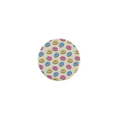 Donuts Pattern 1  Mini Buttons by Valentinaart