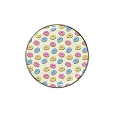 Donuts Pattern Hat Clip Ball Marker (10 Pack) by Valentinaart