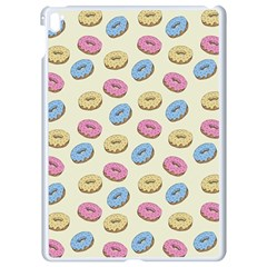 Donuts Pattern Apple Ipad Pro 9 7   White Seamless Case by Valentinaart