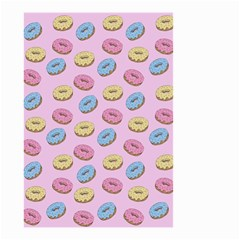 Donuts Pattern Small Garden Flag (two Sides) by Valentinaart