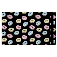 Donuts Pattern Apple Ipad Pro 9 7   Flip Case by Valentinaart