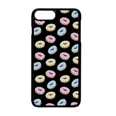 Donuts Pattern Apple Iphone 8 Plus Seamless Case (black) by Valentinaart