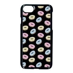 Donuts Pattern Apple Iphone 7 Seamless Case (black) by Valentinaart