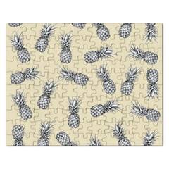 Pineapple Pattern Rectangular Jigsaw Puzzl