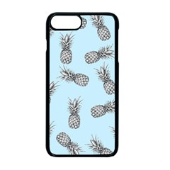 Pineapple Pattern Apple Iphone 7 Plus Seamless Case (black) by Valentinaart
