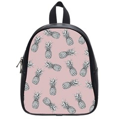 Pineapple Pattern School Bag (small) by Valentinaart