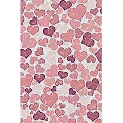 Sparkling Hearts 181 5 5  X 8 5  Notebook