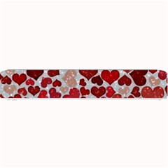 Sparkling Hearts, Red Small Bar Mats