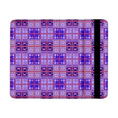Mod Purple Pink Orange Squares Pattern Samsung Galaxy Tab Pro 8 4  Flip Case