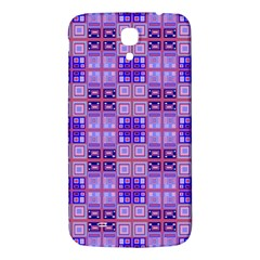 Mod Purple Pink Orange Squares Pattern Samsung Galaxy Mega I9200 Hardshell Back Case