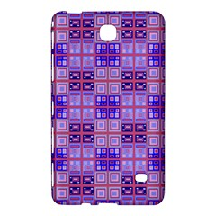 Mod Purple Pink Orange Squares Pattern Samsung Galaxy Tab 4 (8 ) Hardshell Case