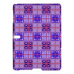 Mod Purple Pink Orange Squares Pattern Samsung Galaxy Tab S (10 5 ) Hardshell Case