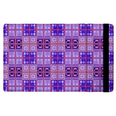 Mod Purple Pink Orange Squares Pattern Apple Ipad Pro 12 9   Flip Case
