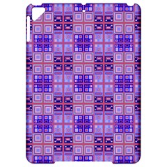 Mod Purple Pink Orange Squares Pattern Apple Ipad Pro 9 7   Hardshell Case