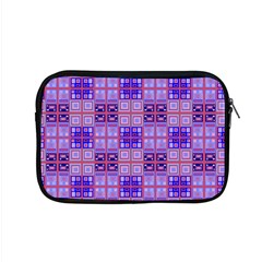 Mod Purple Pink Orange Squares Pattern Apple Macbook Pro 15  Zipper Case