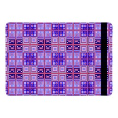 Mod Purple Pink Orange Squares Pattern Apple Ipad Pro 10 5   Flip Case