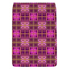 Mod Pink Purple Yellow Square Pattern Removable Flap Cover (s)