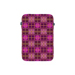 Mod Pink Purple Yellow Square Pattern Apple Ipad Mini Protective Soft Cases
