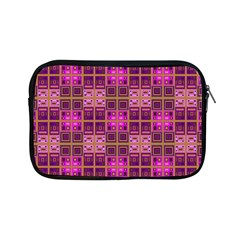 Mod Pink Purple Yellow Square Pattern Apple Ipad Mini Zipper Cases