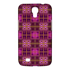 Mod Pink Purple Yellow Square Pattern Samsung Galaxy Mega 6 3  I9200 Hardshell Case