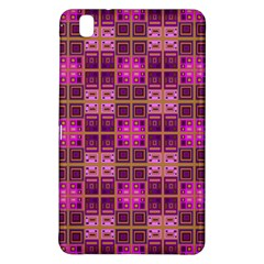 Mod Pink Purple Yellow Square Pattern Samsung Galaxy Tab Pro 8 4 Hardshell Case