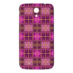 Mod Pink Purple Yellow Square Pattern Samsung Galaxy Mega I9200 Hardshell Back Case